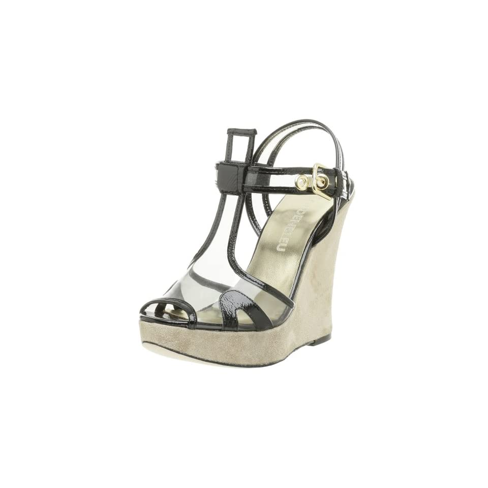 Castell Womens Wedge Linen 202 Beige All Leather with Rubber Soles Menorquina Sandal