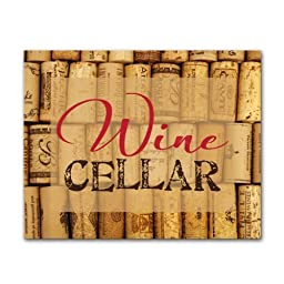 Cathy\'s Concepts Wine Cellar Decorative Aluminum Bar Sign by Cathys Concepts