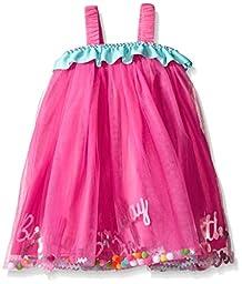 Mud Pie Baby Birthday Girl Dress Up, Multi, 12 Months/4T