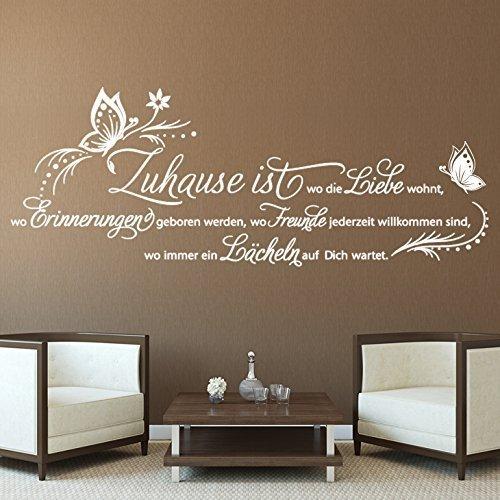 grandora-w5145-adesivo-murale-citazione-casa-e-dove-i-amore-abita-grigio-medio-bxh-154-x-58-cm