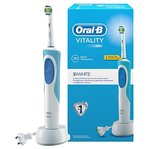 Oral-B Vitality White + Clean D12.513W Weiß Elektrische Zahnbürste