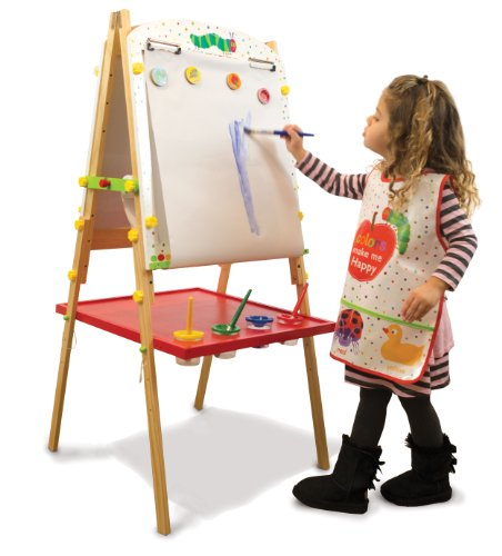 World of Eric Carle, Little Artist Easel with Paint Cups by Kids Preferred