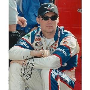 Autographed Harvick Photograph - 8x10 - Autographed NASCAR Photos by Sports Memorabilia