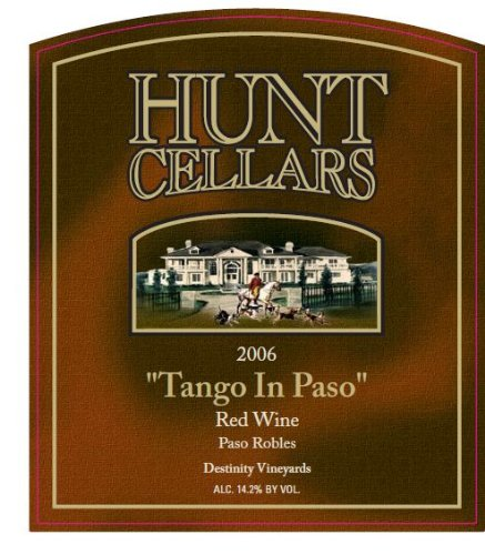 2006 Hunt Cellars 'Tango In Paso' Red Blend, Paso Robles 750 Ml