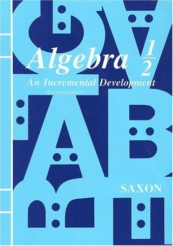 Algebra 1 2 An Incremental Development Second Edition093983765X : image