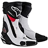 alpinestars(アルパインスターズ) SMX PLUS ブーツ BLACK WHITE RED VENTED 44 (28.5cm)