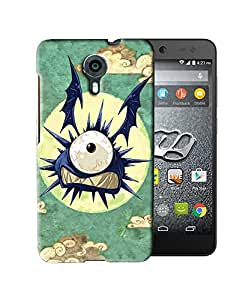 PrintFunny Designer Printed Case For MicromaxXpress2