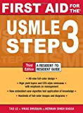 img - for First Aid for the USMLE Step 3, Third Edition (First Aid USMLE) book / textbook / text book