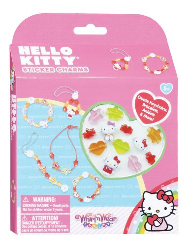Hello Kitty Whirl 'n Wear Sticker Charms - 1