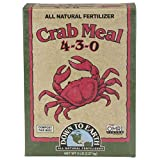 Down to Earth Organic Crab Meal Fertilizer Mix 4-3-0, 5 lb (Tamaño: 5 Pound)