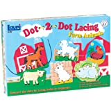 Patch Products Dot-2-Dot Lacing Farm Animals