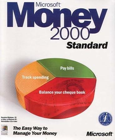 Microsoft Money 2000 Standard