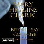 Before I Say Good-Bye | Mary Higgins Clark