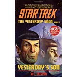 Yesterday's Son (Star Trek, No 11) ~ A. C. Crispin