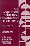 The Acquisition of Literacy: Ethnographic Perspectives (Advances in Discourse Processes) (v. 21) (0893913790) by Schieffelin, Bambi