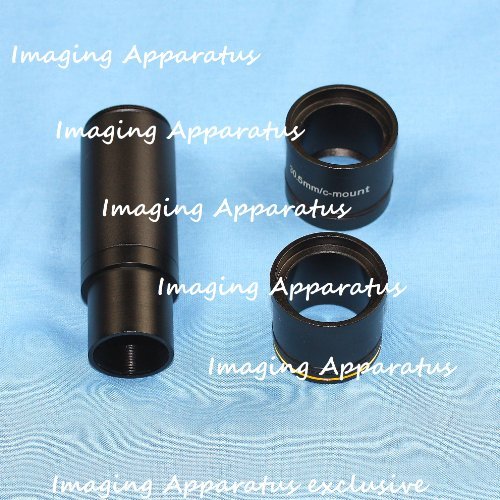 0.45X Microscope Digital Camera Relay Lens W/ 3X Adapters