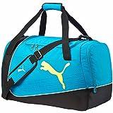 PUMA evopower sac de sport taille m UA Noir - Black/Atomic Blue/Safety Yellow...