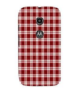 EPICCASE orderliness Mobile Back Case Cover For Moto E 2nd Generation (Designer Case)