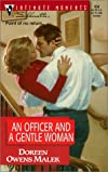 An Officer and a Gentle Woman (Silhouette Intimate Moments #958) (Men in Blue)