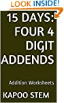 15 Days Math Addition Series: Four 4...