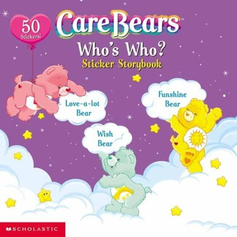 Who'S Who?: Sticker Storybook (Care Bears) back-992728