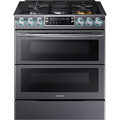 Samsung-Appliance-NX58K9850SG-30-Slide-in-Gas-Range-with-Sealed-Burner-Cooktop-58-cu-ft-Primary-Oven-Capacity-in-Black-Stainless-Steel