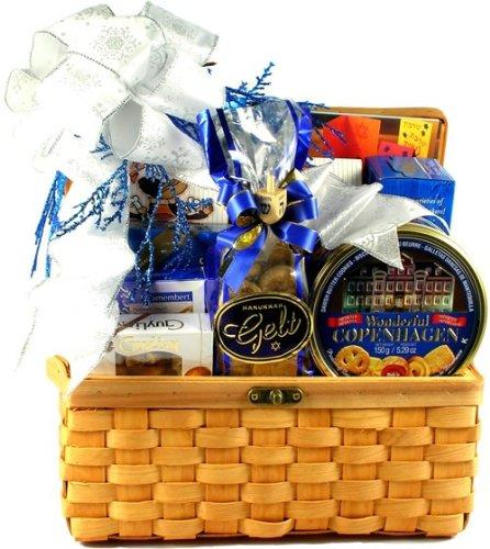 Gift Basket Village Hanukkah Treasures Kosher Gift Basket