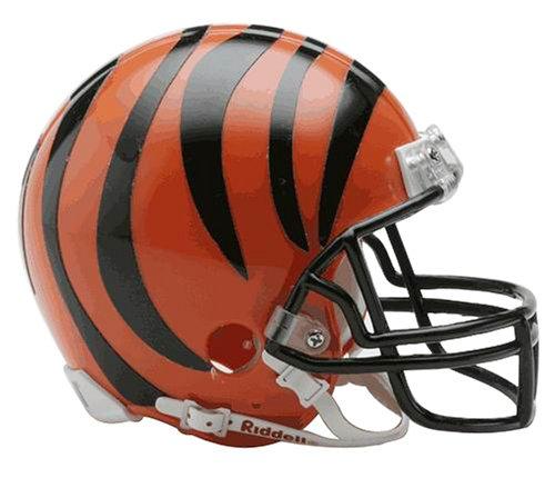 NFL Cincinnati Bengals Replica Mini Football Helmet (Football Helmets For Sale compare prices)