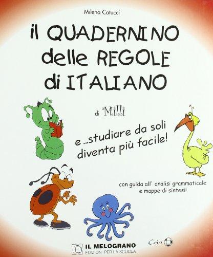 Il quadernino delle regole di italiano E studiare da soli diventa più facile PDF