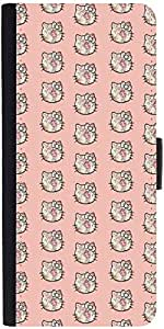 Snoogg Cute Kitty Formationdesigner Protective Flip Case Cover For Sony Xperia Z