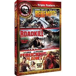 Maneater Triple Feature 7: Behemoth/Roadkill/Ferocious Planet