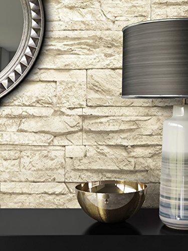 steintapete vlies beige sch ne edle tapete im steinmauer design moderne 3d optik f r. Black Bedroom Furniture Sets. Home Design Ideas