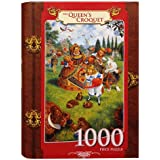MasterPieces The Queens Croquet Book Box Jigsaw Puzzle, 1000-Piece