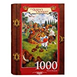 Scott Gustafson The Queens Croquet 1000 Piece Jigsaw Puzzle