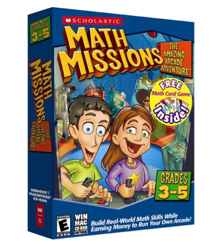 Math Missions Grades 3rd-5th with Card Game