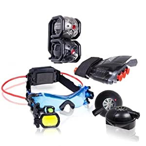 Spy Gear Mission Extreme Kit Set With Night Goggles