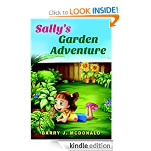 Childrens eBooks - Sally's Garden Adventure (Rhyming Children's Picture Book)