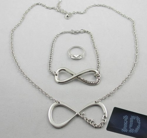 3pcs Fashion One Direction Necklace 1d Bracelet