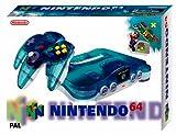 echange, troc Console N64 Clear Blue + Super Mario 64