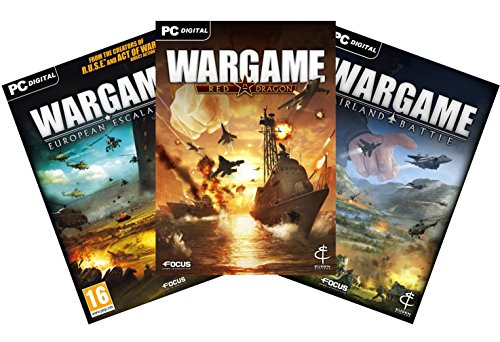 Wargame Franchise Pack [Online Game Code] (Wargame Red Dragon Steam compare prices)