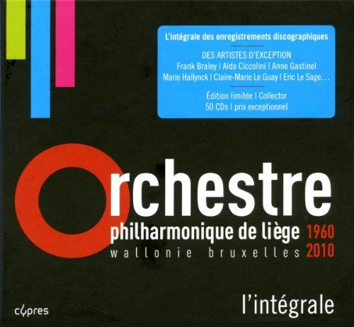 50E ANNIVERSAIRE ORCHESTRE PHILHARMONIQUE DE LIÈGE