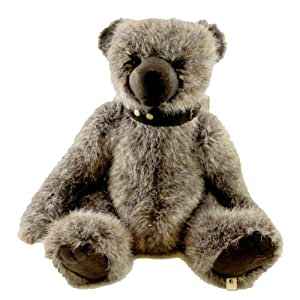 "Buster McSuede by Boyds Bears 16"" Plush Suede Bear (Heirloom Collection)"