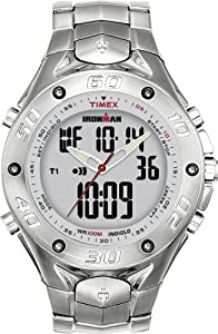 Timex Men's T56371 Ironman Triathlon 42 Lap Combo Analog Digital Dress Watch