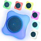 ARCHEER LED Bluetooth Speaker Mini Wireless Portable Bluetooth Speaker with Colorful LED Lights Support TF Card for Apple iPhone Samsung Galaxy and Other Smartphones iPad PC Computer