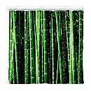 Kikkerland Shower Curtain, Bamboo