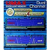 UMAX DDR4-2133(8GB*2) 2枚組 デスクトップ用 Cetus DCDDR4-2133-16GB HS