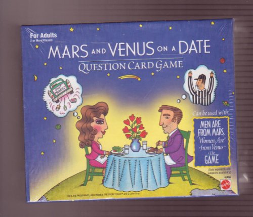 Mars and Venus on a Date Question Card Game