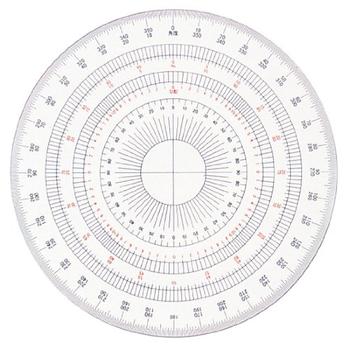 Full protractor related keywords full protractor long for Circular protractor template