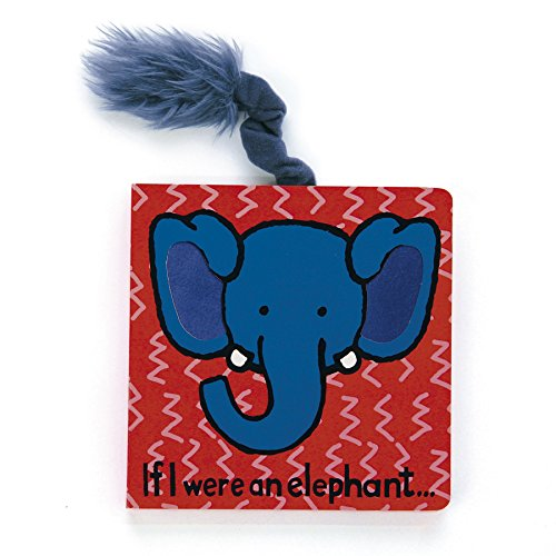 Jellycat® Board Books, If I Were An Elephant front-776068
