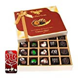 Chocholik Belgium Chocolates - Great Combination Of 20 Pc Assorted Chocolates With 3d Mobile Cover For IPhone...
